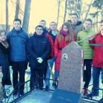 Фото с могилы Ножкиной